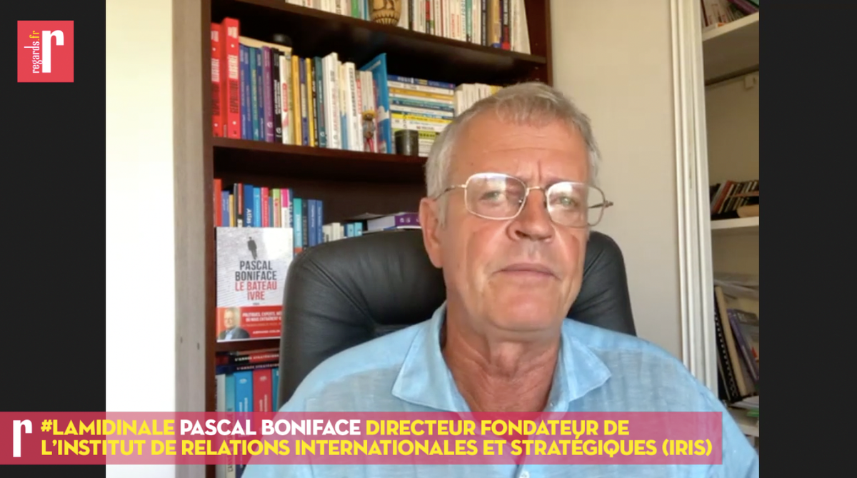 Pascal Boniface a un regard éclairé sur la scène  internationale et ses analyses nous intéressent beaucoup gs2gs